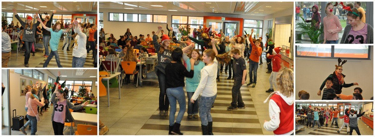 Flashmob in der IGS Mensa